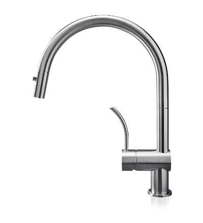Vela PD - stainless steel kitchen faucet