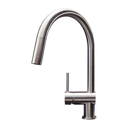 Stainless steel tap mgs Vela robinet acier inoxydable edelstaharmatur